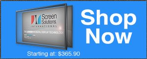 Shop touch screen overlay